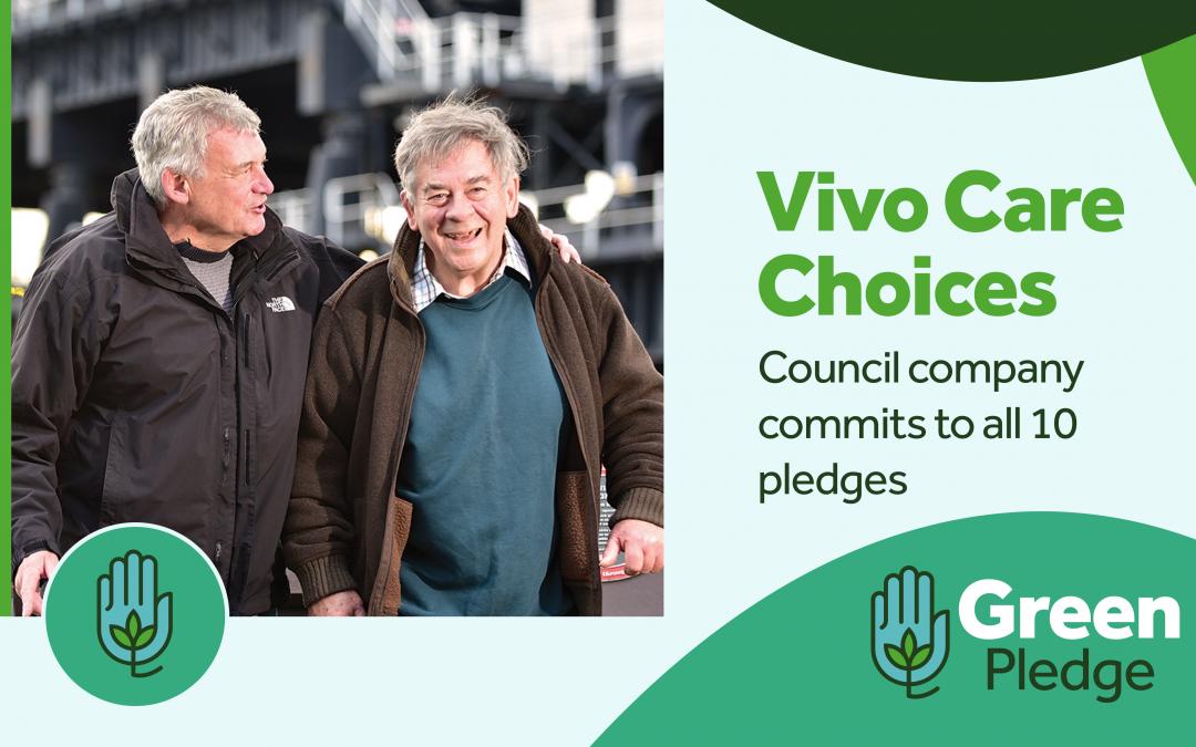 Vivo supports Green Pledges campaign