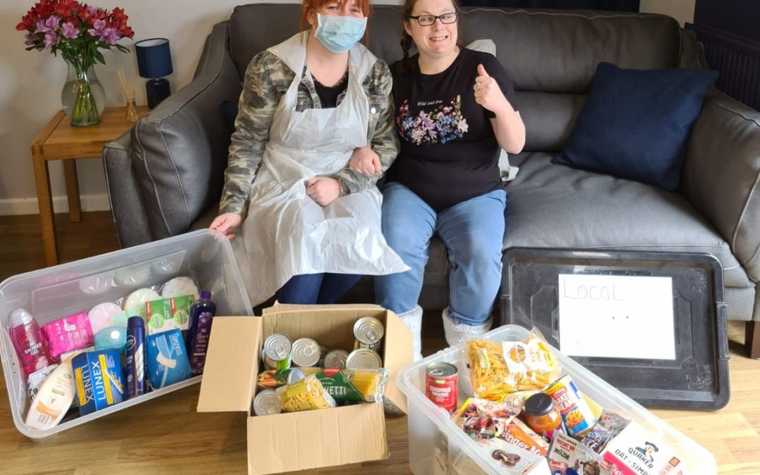 Helping others through local foodbanks